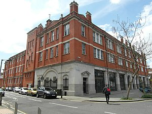 London Fire Brigade - The LFB's current headquarters since 2007, in Southwark.