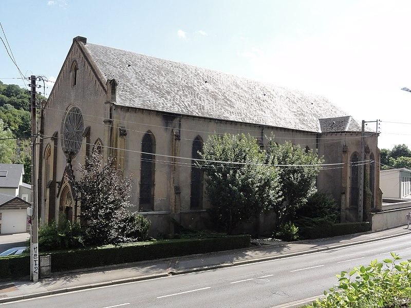 Longuyon (Meurthe-et-M.) église Saint-Jean-Baptiste-de-la- Salle