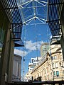 Looking North from an entrance onto Queen Street Cardiff. Queen Street Arcade.jpg