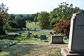 Looking down Sec 3 at Sec 2 b - Lake View Cemetery (37318250215).jpg