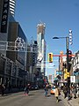Looking north on Yonge towards the Aura building, 2013 11 29 (1).JPG - panoramio.jpg