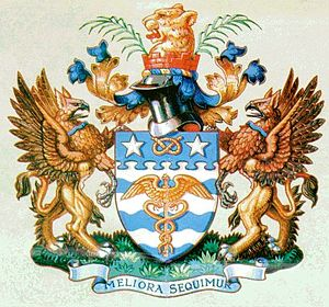 Lord Mayor of Brisbane - Image: Lord Mayor Brisbane Crest