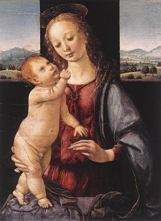 Lorenzo di Credi - Image: Lorenzo di Credi Madonna Dreyfus