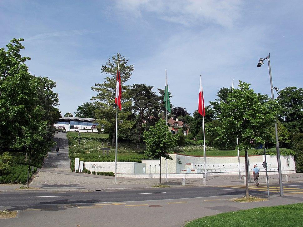 Losanna, museo olimpico, ext., 00