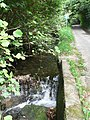 Loscombe, waterfall and no through road - geograph.org.uk - 550547.jpg