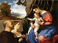 Lotto, madonna col bambino e due donatori 2.jpg