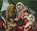 Lotto - Madonna con Bambino, san Giovannino e san Zaccaria, Asta Sotheby's.jpg