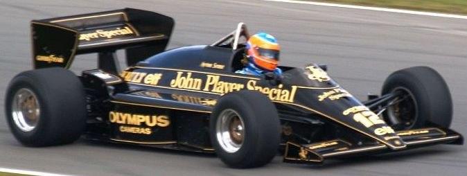Lotus 97T Donington 2007-2