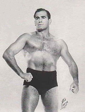 Lou Thesz - Thesz pictured in the 1950s