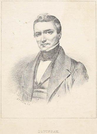 Louis-Joseph Papineau - Louis-Joseph Papineau, 1840.