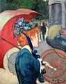 Louis Anquetin - Woman with Umbrella, 1891.jpg
