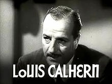 Louis Calhern en 1935 en a cinta Woman Wanted.
