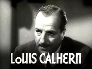 Louis Calhern - from the trailer for Woman Wanted (1935)