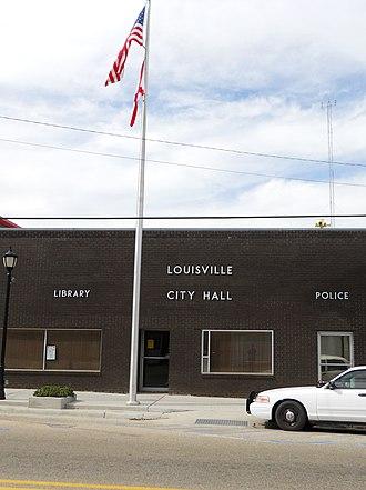 Louisville, Alabama - Image: Louisville City Hall