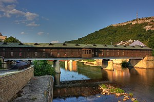 Lovech - The Covered Bridge connecting the two parts of town.