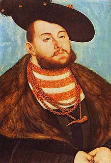 John Frederick I, Elector of Saxony Elector of Saxony