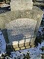 Luebbersdorf Grab Hans Hubertus von Stosch (Vizeadmiral), Susanne von Stosch 2011-01-28 269.JPG