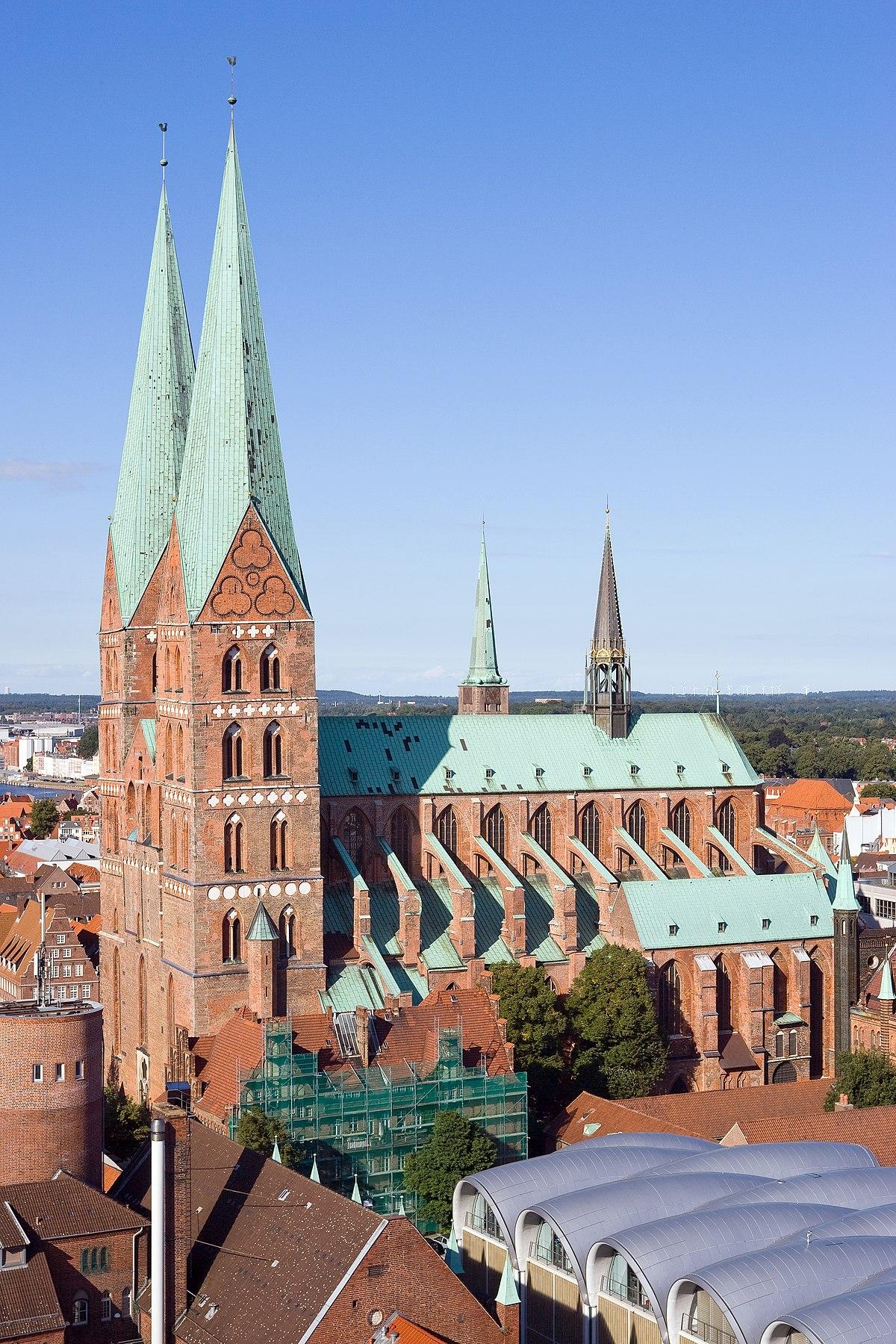 Gründerviertel Lübeck marienkirche lübeck