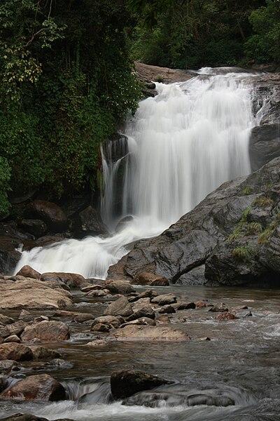 Lukkam waterfalls in Munnar