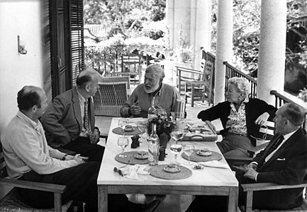 Luncheon at La Consula, Malaga, Spain, 1959.jpg