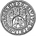Lviv CityCouncil Seal, 1359.jpg