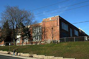 Lycée Français Toronto - Lycée Français Toronto at 2327 Dufferin Street (formerly D.B. Hood Public School)