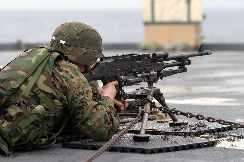 New from General Dynamics: The  338 LWMMG    Lightfighter