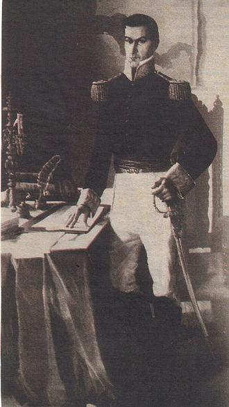 Francisco Morazán - President Manuel José Arce was exiled by General Morazán when the Civil War ended