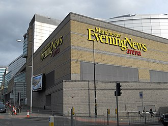 2002 Commonwealth Games - The Manchester Arena hosted the boxing and netball events
