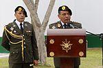 """MINISTRO DE DEFENSA PRESIDIÓ CEREMONIA DE HOMENAJE A VALEROSOS COMANDOS """"CHAVÍN DE HUÁNTAR"""" (26306626880).jpg"""