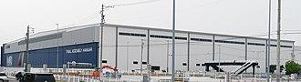 Mitsubishi Regional Jet - Final Assembly Hangar in Nagoya
