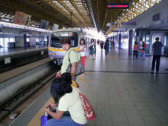 Recto LRT station - Image: MRT 2 Recto Station Platform 4