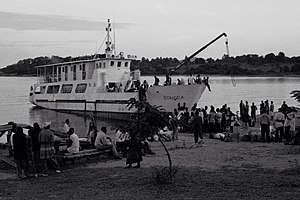 Tanzania Ports Authority - MV Songea owned by the East African Railways and Harbours Corporation operating on Lake Nyasa