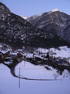 Challand-Saint-Anselme Comune in Aosta Valley, Italy