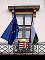 Maďarský znak a vlajky.JPG