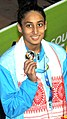 Maana Patel at the 12th South Asian Games 2016 in Guwahati.jpg