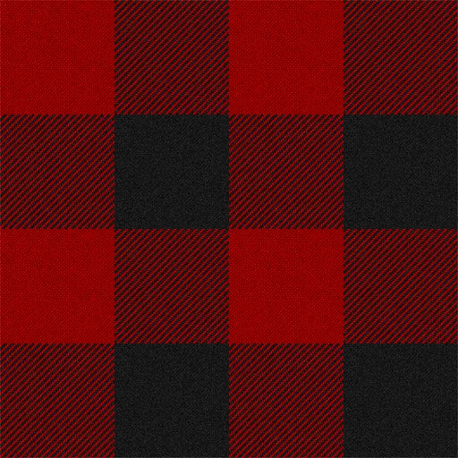 MacGregor Red & Black (aka Rob Roy Macgregor) tartan