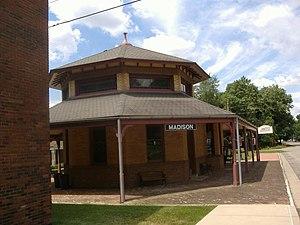 Madison Historic District (Madison, Indiana) - Image: Madison Indiana Depot