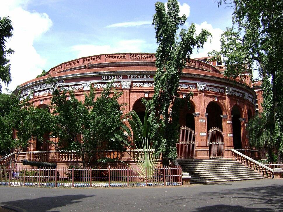 Madras museum theatre in October 2007