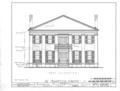 Magnolia Grove, 1002 Hobson Street, Greensboro, Hale County, AL HABS ALA,33-GREBO,1- (sheet 3 of 8).png
