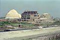 Main Auditorium - Dynamotion Hall - Space Odyssey Under Construction - Science City - Eastern Metropolitan Bypass - Calcutta 1996-March 302.JPG