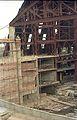 Main Auditorium Interior Under Construction - Convention Centre Complex - Science City - Calcutta 1995-April 066.JPG