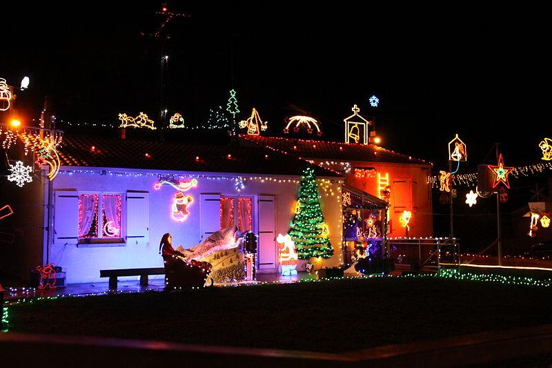Decoration Noel Maison Du Pere Nole