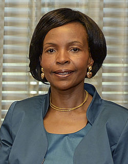 Maite Nkoana-Mashabane South African politician
