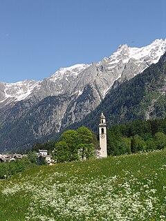 Val Bregaglia valley