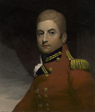 George Gordon, 5th Duke of Gordon - The Marquis of Huntly, Colonel of the 42nd Regiment, 1806