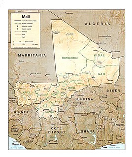 Index of Mali-related articles Wikimedia list article