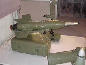 9M14 Malyutka - Improved Serbian-produced 9M142T missile