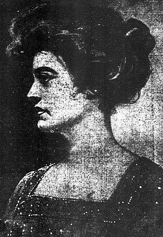 Mamah Borthwick - Borthwick in a newspaper in December 1911.