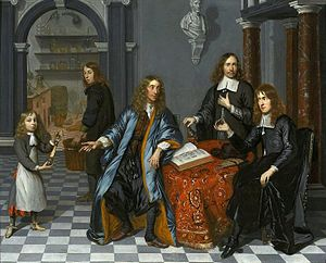 Group Portrait in a Chemist's House